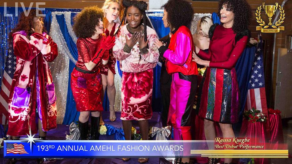 193rd Annual National Amehl Fashion Award Ceremony Gala