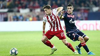 Konstantinos Tsimikas: 4 Big Chances Created against Red Star