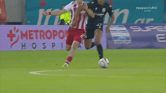 Konstantinos Tsimikas - Exceptional Ball Recovery vs. PAOK