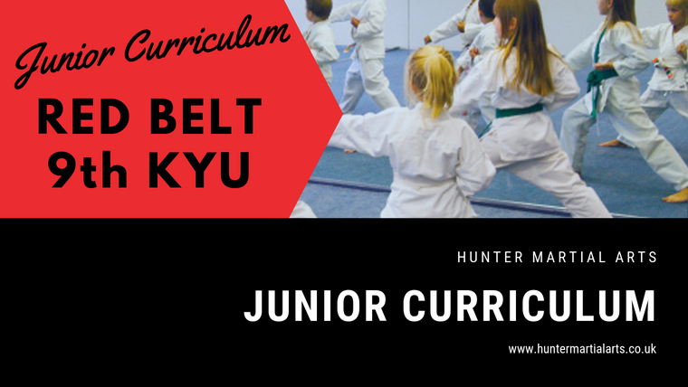 RED BELT - 9th KYU
