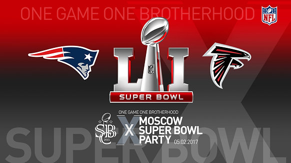 MOSCOW SUPER BOWL PARTY 2017