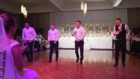 My favorite groomsmen dance