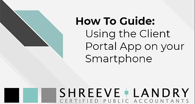 Client Portal - Using a Smartphone