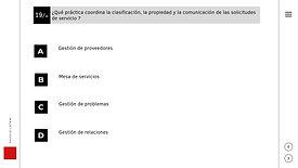 Examen ITIL4 Fundamentos - Preparación de examen