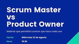 Scrum Master vs ProductOwner