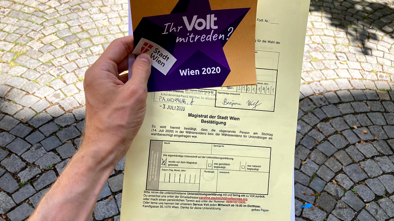 Help us run in Vienna's 2020 local elections