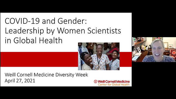 COVID-19 and Gender: Leadership by Women Scientists in Global Health