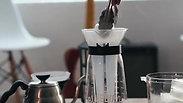 Ice Coffee! Hario V60 with Bluebird Coffee