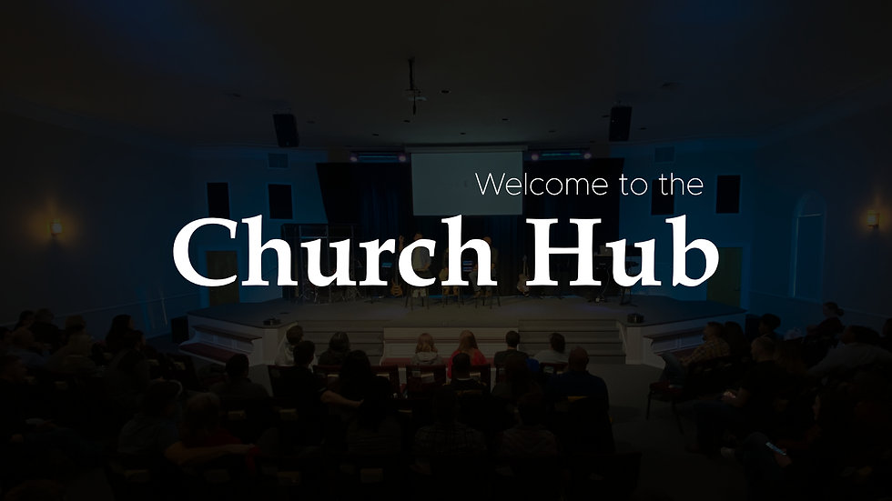 Welcome to the Hub Video