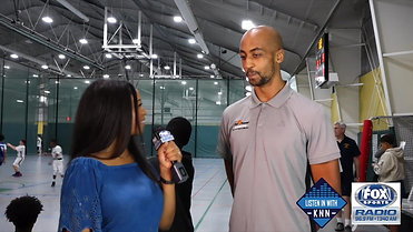 Fox Sports: Kelsey Nicole Nelson interviews Maurice Pearson During the 2018 HCYP Basketball Tournament