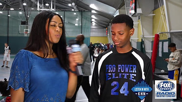 Fox Sports: Kelsey Nicole Nelson interviews Isaiah Smith During the 2018 HCYP Basketball Tournament