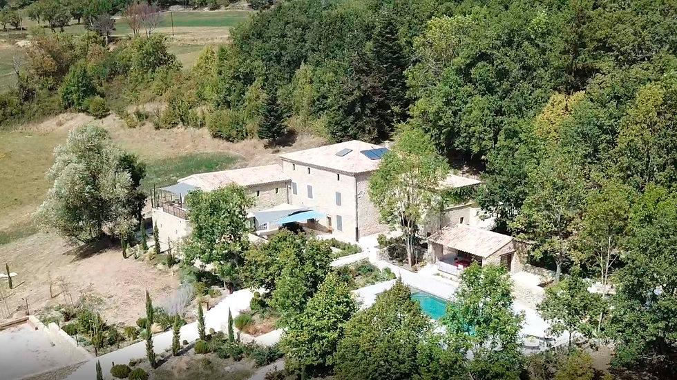 La Ferme Du Rastel, beau domaine en Drôme Provençale