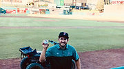 Aaron's First Pitch
