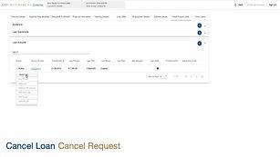 5) RadixCloud - Lending - Loan Cancellations