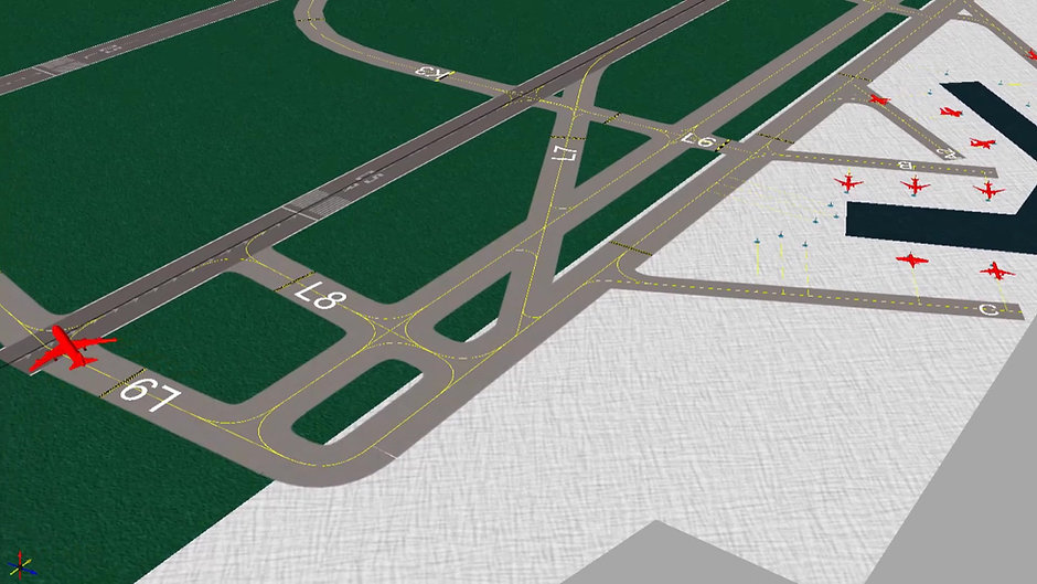 Detailed Airside Modelling