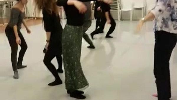 Slient dance