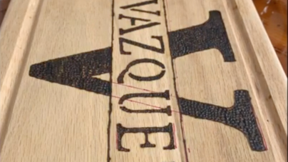 Making of Personalized Cutting Board