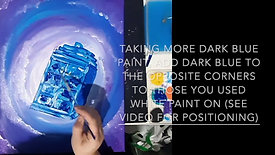 LEARN TO PAINT TARDIS
