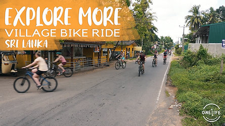 Bike Ride in Sri Lanka