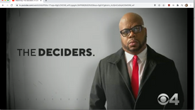 CBS NATIONAL SHOW The Deciders- Black voters in 2020