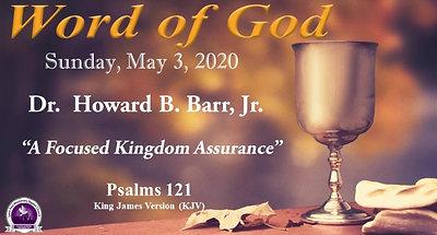 Sermon - May 3, 2020