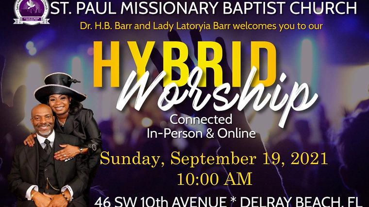 Sunday Morning Worship - 9/19/21
