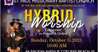 Sunday Morning Worship - Oct 3, 2021