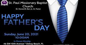 Sunday Morning Worship - 6/20/21