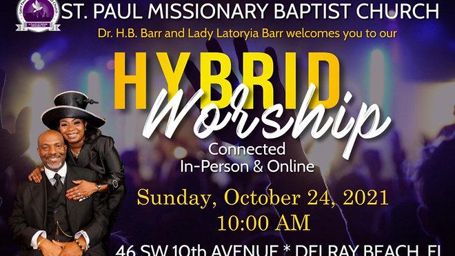 Sunday Morning Worship - Oct 24 2021