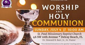 Sunday Morning Worship - July 4th