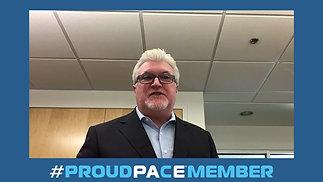 Joe Galvin Proud Pace Member