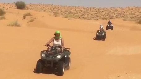 Excursion en Quad dans le désert a Douz