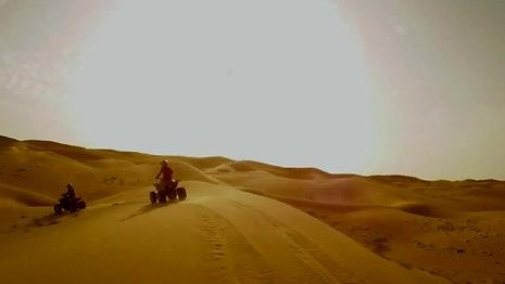 Raid en Quad dans le désert à Douz