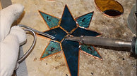 Blue Star - Copper Foil
