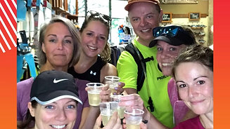 Frontrunners Sips on Prosecco