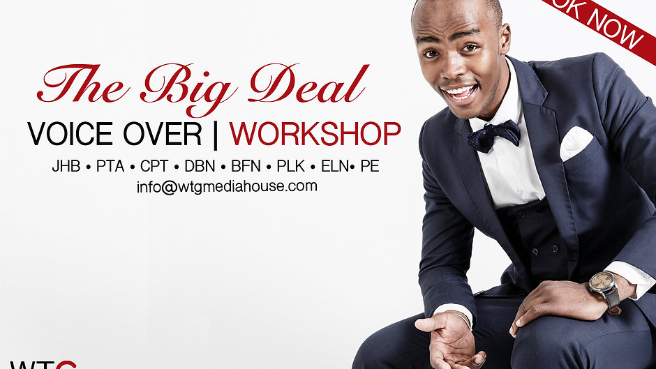 Highlights & Reviews  from The Big Deal Voice Over Workshops