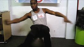 The_Gym_Buddiez_Balancing_On_The_Physio_Ball