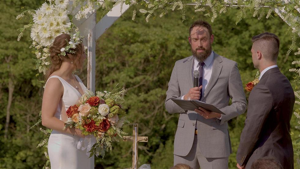 Josh & Kenzi - Ceremony
