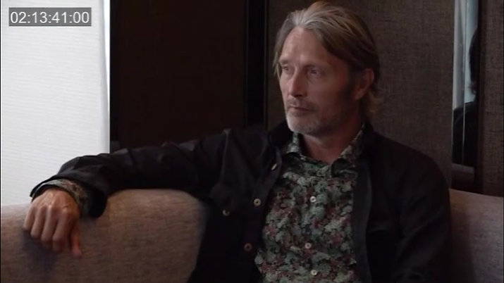 Mads Mikkelsen Photo Making
