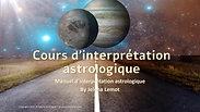Un extrait de cours d'interprétation astrologique