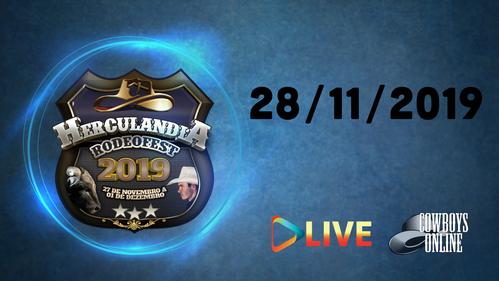 Rodeo Live Herculandia - SP 28/11/19