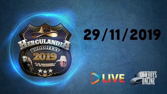 Rodeo Live Herculandia - SP 29/11/19