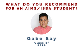 What do you recommend for an ISBA student to be competitive??