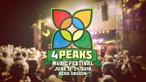 2018 4 Peaks Music Festival Experience Promotion