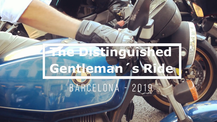 Distinguished Gentleman´s Ride BCN 2019