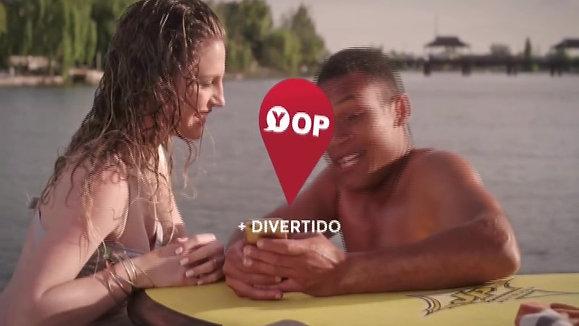 Publicidad Yop Brasil