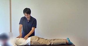 7.基本的な脊柱起立筋のリリース