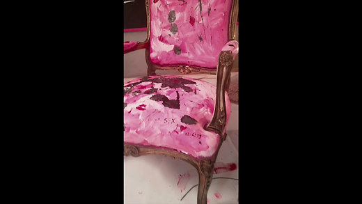 """""""My heart aches for you/Pink porno {ACT} chair on devoted horny babe{ACT}""""."""