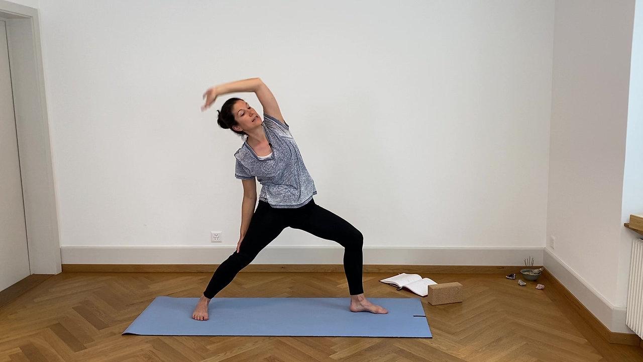 Verbinde dich mit der Kraft aus deiner Mitte I 45 min I Level 2