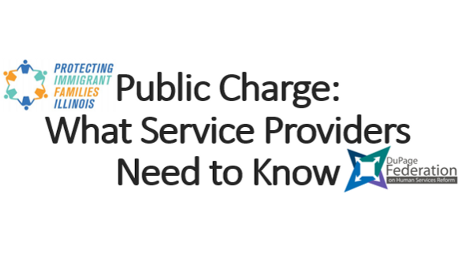 Public Charge for Service Providers